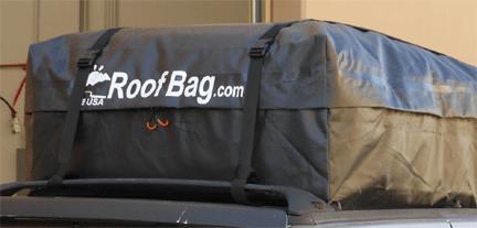 Best rooftop cargo bags RoofBag Explorer Car Top Carrier Vansage