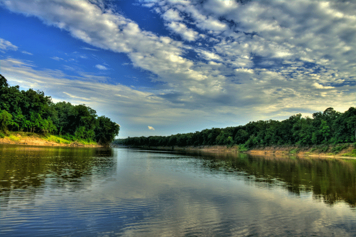 Campervan Essentials List Ouachita River Image Vansage